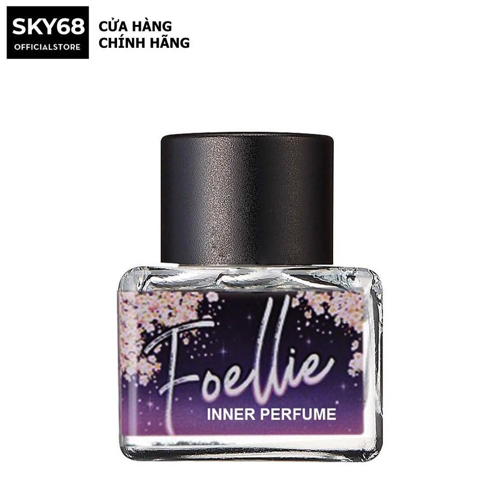 Nước hoa vùng kín hương đào ngọt ngào Foellie Eau De Innerb Perfume 5ml - Cherry Blossom (chai màu tím)