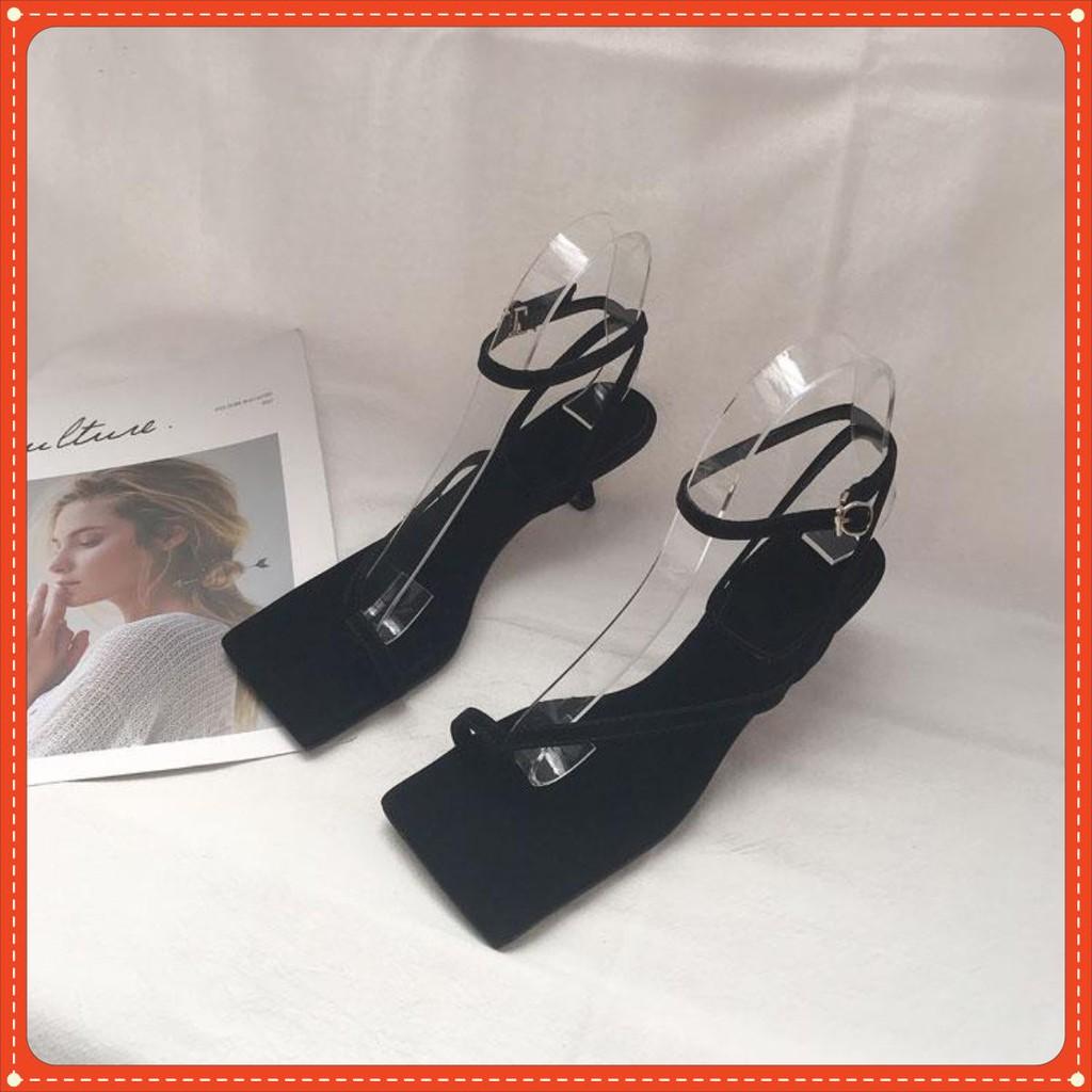 Sandal gót nhọn thời thượng kiểu dáng sang chảnh S16 cao 5 phân VIETLAVANI