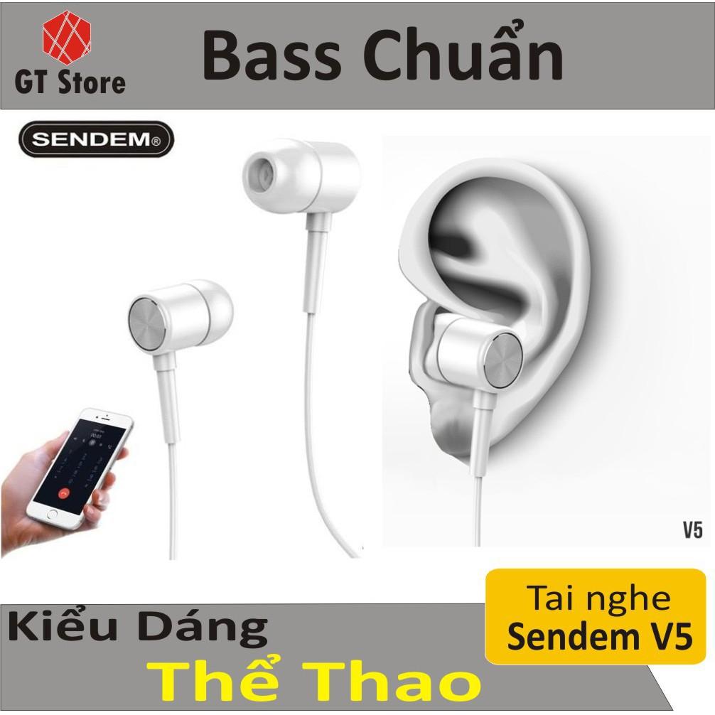 Tai Nghe In-Ear Super Bass Sendem V5 Chính Hãng