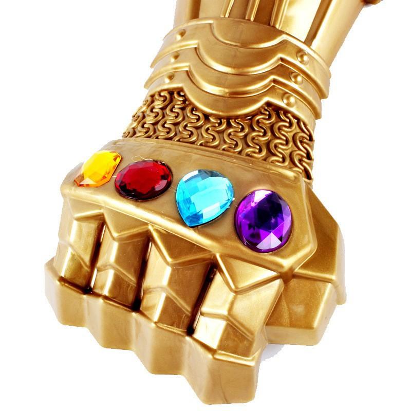 Đồ chơi găng tay vô cực đủ 6 viên đá vô cực phiên bản trẻ e