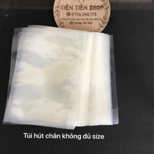 1kg Túi hút chân không 2 mặt trơn loạ