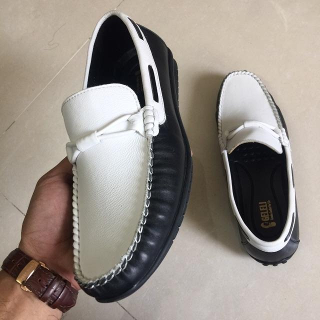 Giày nam da thật - Giày lười da bò