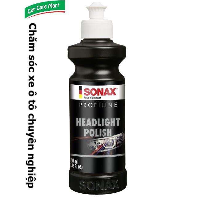 Kem đánh bóng, xóa xước đèn ô tô - Sonax Profiline Headlight Polish