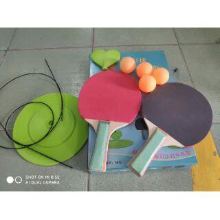 Bộ bóng bàn tập phản xạ cho bé tại nhà