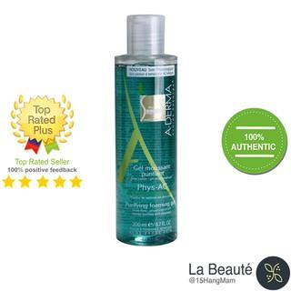 A-Derma Gel Moussant Purifiant Phys-Ac Gel Rửa Mặt Cho Da Mụn, Nhạy Cảm 200ml thumbnail