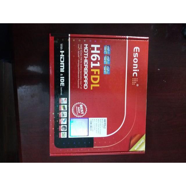 Main H61 Esonic new zin full box bảo hành 24 T