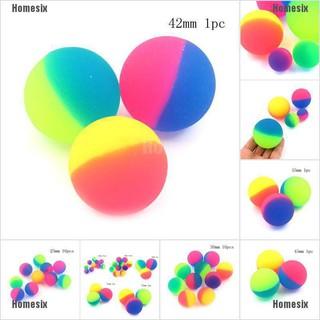 [HHMSI] 1/10 pcs Moonlight High Bounce Ball Elastic Juggling Jumping Balls Outdoor Toys FWB