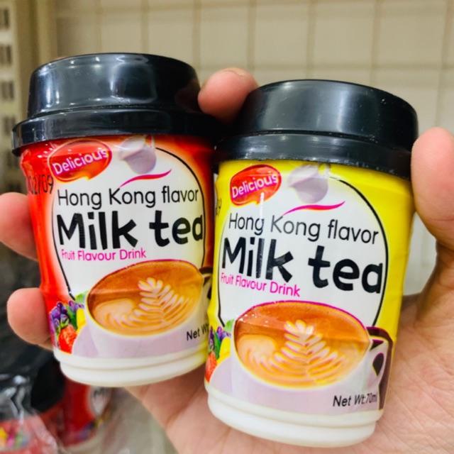 Sữa chua uống Funny Castle nội địa Thái Lan