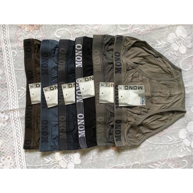 Quần lót nam cotton chất xịn/ quần chíp nam/ quần sịp /Set 6c