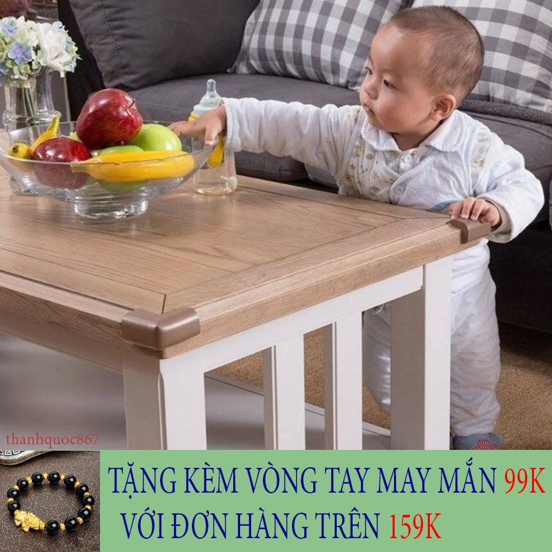 [SIÊU HOT] Set 4 bịt góc bàn xốp an toàn cho gia đình có trẻ nhỏ