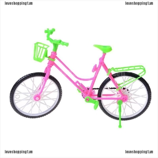 LOVE Detachable Plastic Bike Bicycle Wheel For Multicolor Doll Toy Princess