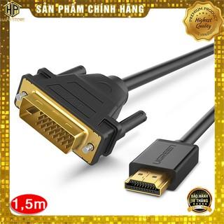 Ugreen 30116 - Cáp chuyển đổi HDMI sang DVI-D 24+1 dài 1m chính hãng - HapuStore