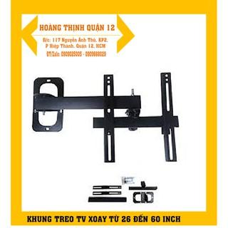Khung treo tivi Xoay 32 đên 55 inch ( 90 – 180 độ)