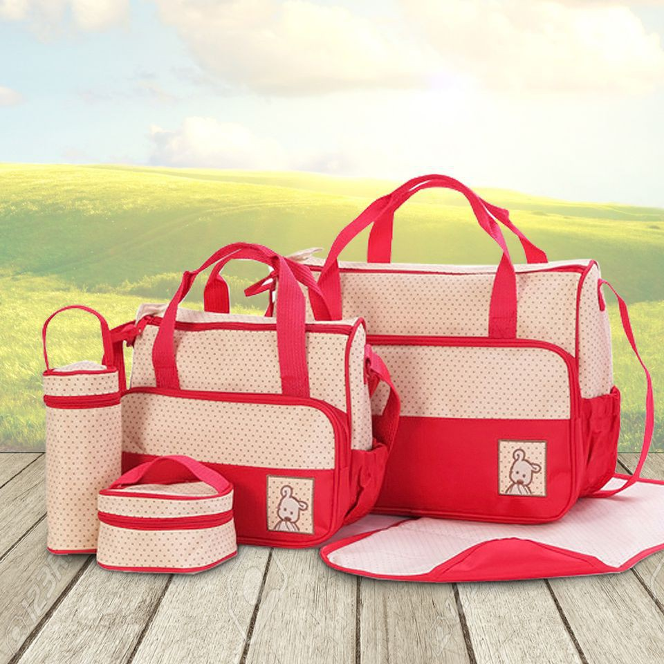 Bộ túi 5 chi tiết chấm bi hữu dụng cho mẹ và bé - 2731046 , 351126207 , 322_351126207 , 179000 , Bo-tui-5-chi-tiet-cham-bi-huu-dung-cho-me-va-be-322_351126207 , shopee.vn , Bộ túi 5 chi tiết chấm bi hữu dụng cho mẹ và bé