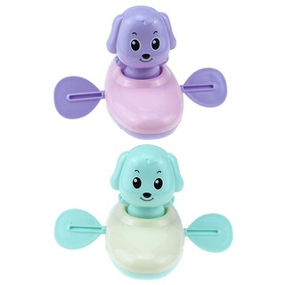 Cartoon Cute Animal Dog Water Clockwork Toy Baby Wind Up Bathroom Bath Toy