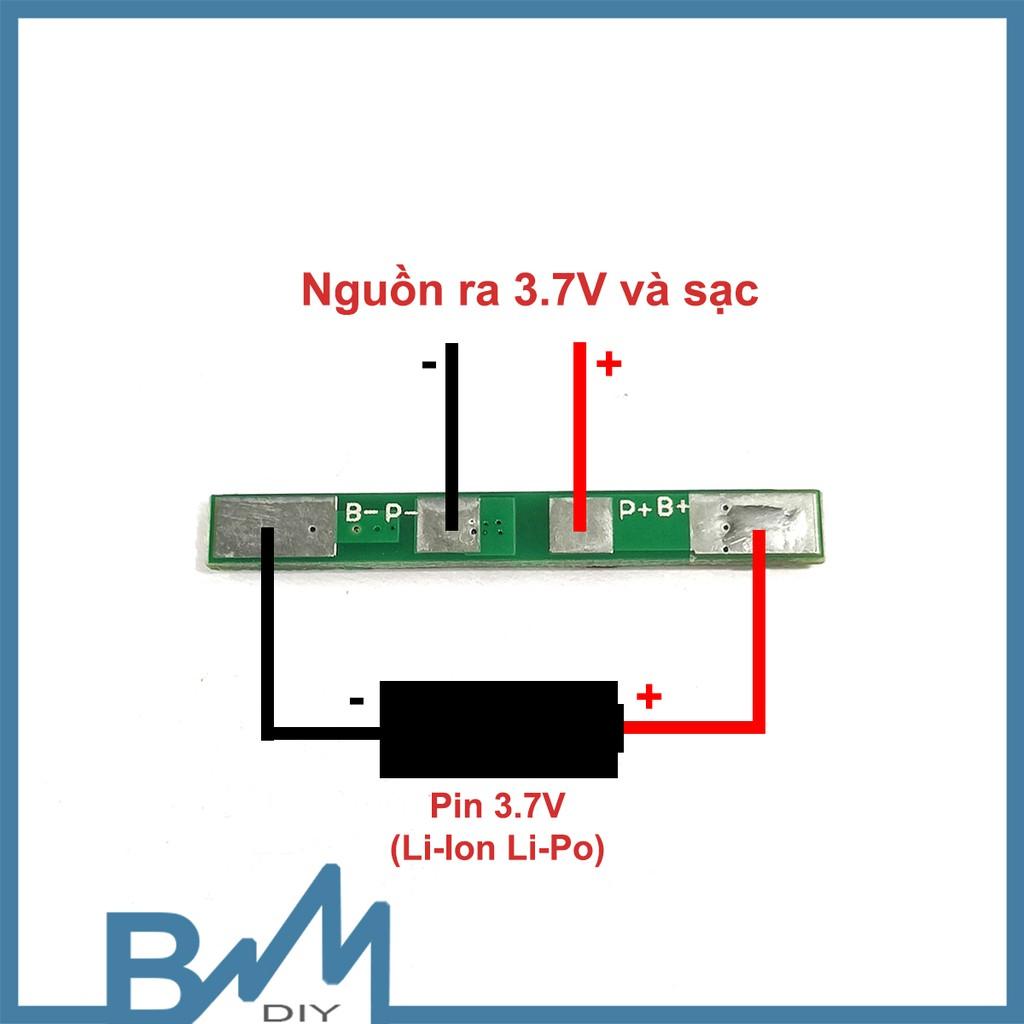 Mạch bảo vệ pin lithium 1S 3A nhỏ gọn