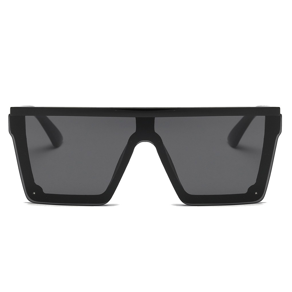 INFA-Men Women Oversize Sunglasses Driving Cool Sun Glasses Square Male UV-Resistent Vintage Eyewear