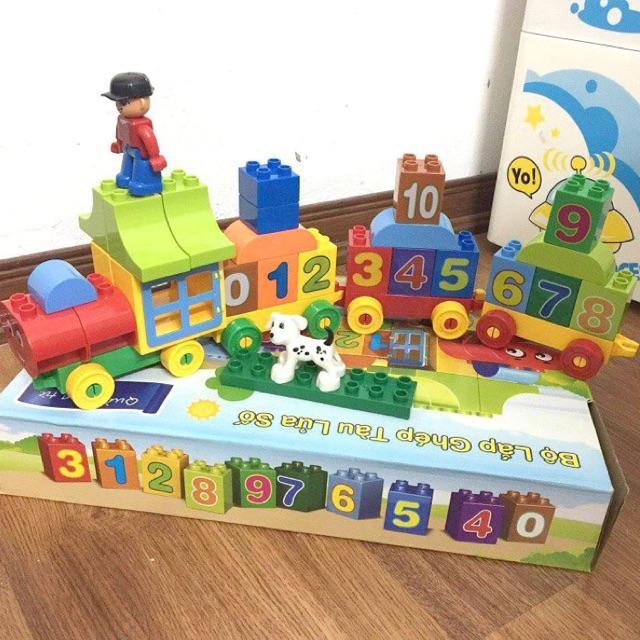 Bộ lego láp ráp tàu lửa số Friso