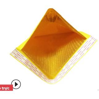 50 Túi Gói Hàng Chống Sốc 13×18+4cm   Túi Giấy Lót Bóng Khí (Kraft) – Phong Bì Đóng Gói Hàng Hóa Chống Sốc
