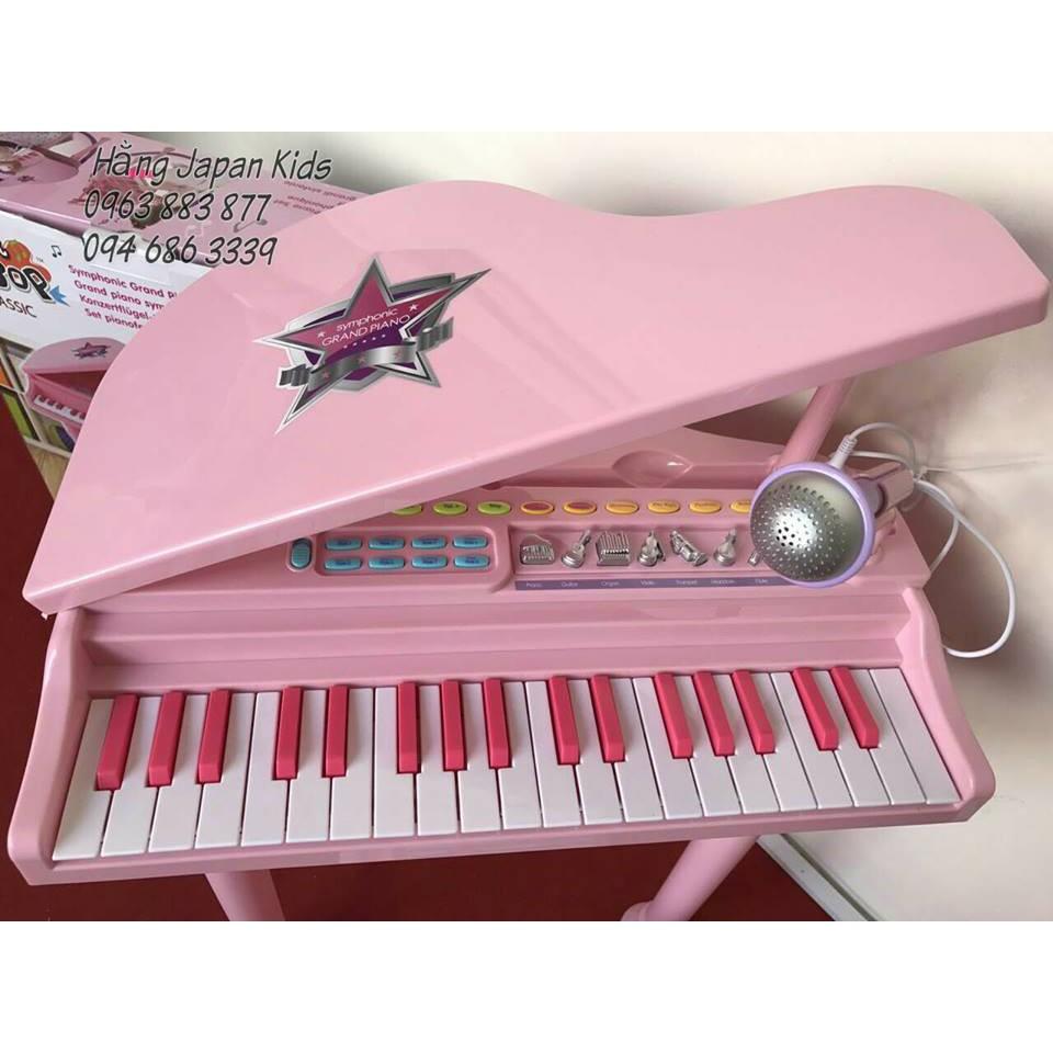 WinFun - Đàn piano hồng cổ điển kèm mic 2045G
