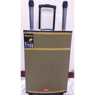 Loa kéo JBL Bass 40 Vàng Gold cao cấp – Tặng kèm 02 Micro cao cấp không dây