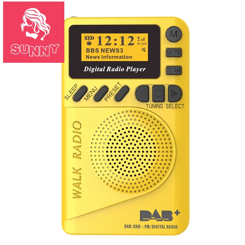 Đài phát thanh kỹ thuật số mini kiêm máy nghe nhạc Mp3 tiện dụng có màn hình LCD - 14915240 , 2504648527 , 322_2504648527 , 581000 , Dai-phat-thanh-ky-thuat-so-mini-kiem-may-nghe-nhac-Mp3-tien-dung-co-man-hinh-LCD-322_2504648527 , shopee.vn , Đài phát thanh kỹ thuật số mini kiêm máy nghe nhạc Mp3 tiện dụng có màn hình LCD