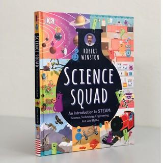 Sách tìm hiểu về STEAM khoa học, công nghệ, kỹ thuật, nghệ thuật và toán học - SCIENCE SQUAD thumbnail