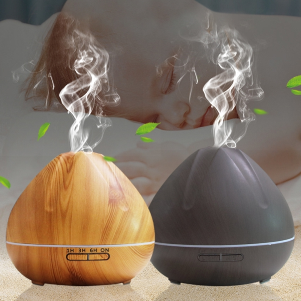 500ml 7 Colors Change Air Humidifier Aromatherapy Diffuser Essential Oil for Home Office Tabletop