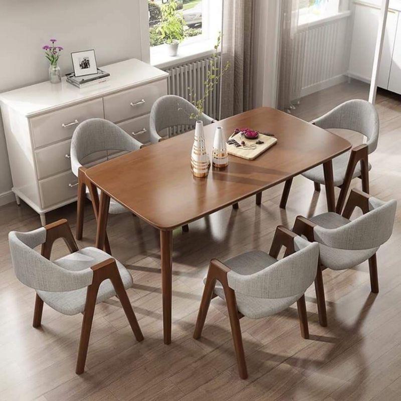 Bộ bàn ăn 6 ghế(giá xưởng)
