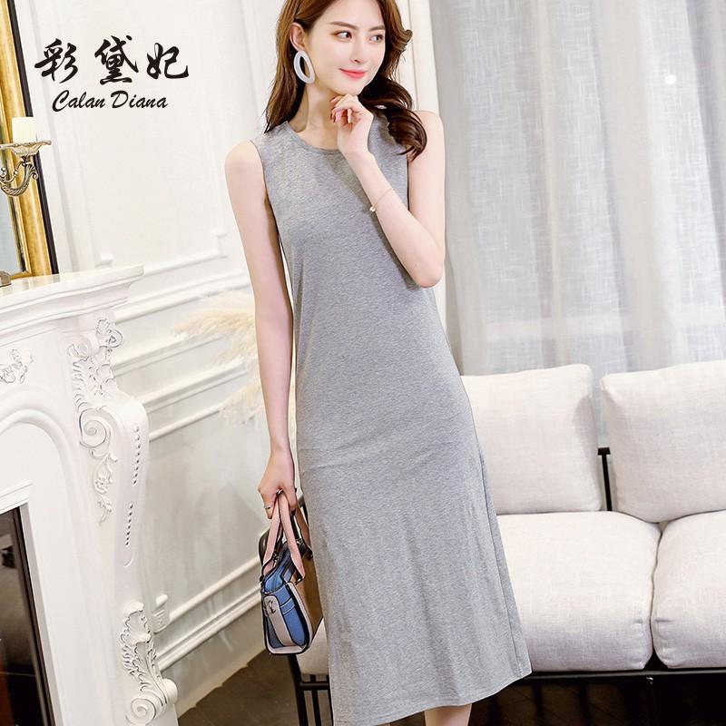 LV Spring and Summer New Korean Sleeveless Dresses