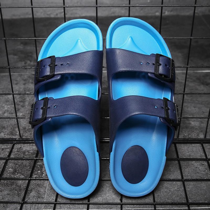 Men PVC Beach Sandal Shoes Good Cool Breathable Outdoor Candy Color