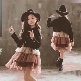 Váy bé gái(hương bui