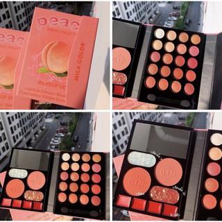 Mắt bóp trang điểm đa năng Mila Color Peach