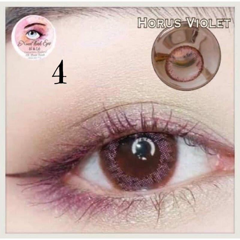 Lens Violet - Kính áp tròng màu tím - Lens Tím (0độ)