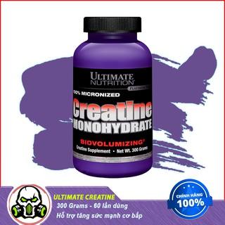 Thực Phẩm Bổ Sung Ultimate Nutrition 100% Creatine Monohydrates - Hỗ Trợ Tăng Sức Mạnh, Phát Triển Cơ Bắp - 60 Lần Dùng thumbnail