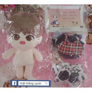 BTS doll fullset Meowtae Fansite