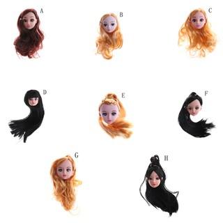 SUN22❤ 3D Eye Head Nake Joints Body Doll Toys For Girl Gift Present For Bar