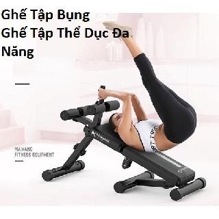 Ghế tập cơ bụng đa năng cao cấp , máy tập thể dục nhiều tư thế chịu lực 180kg