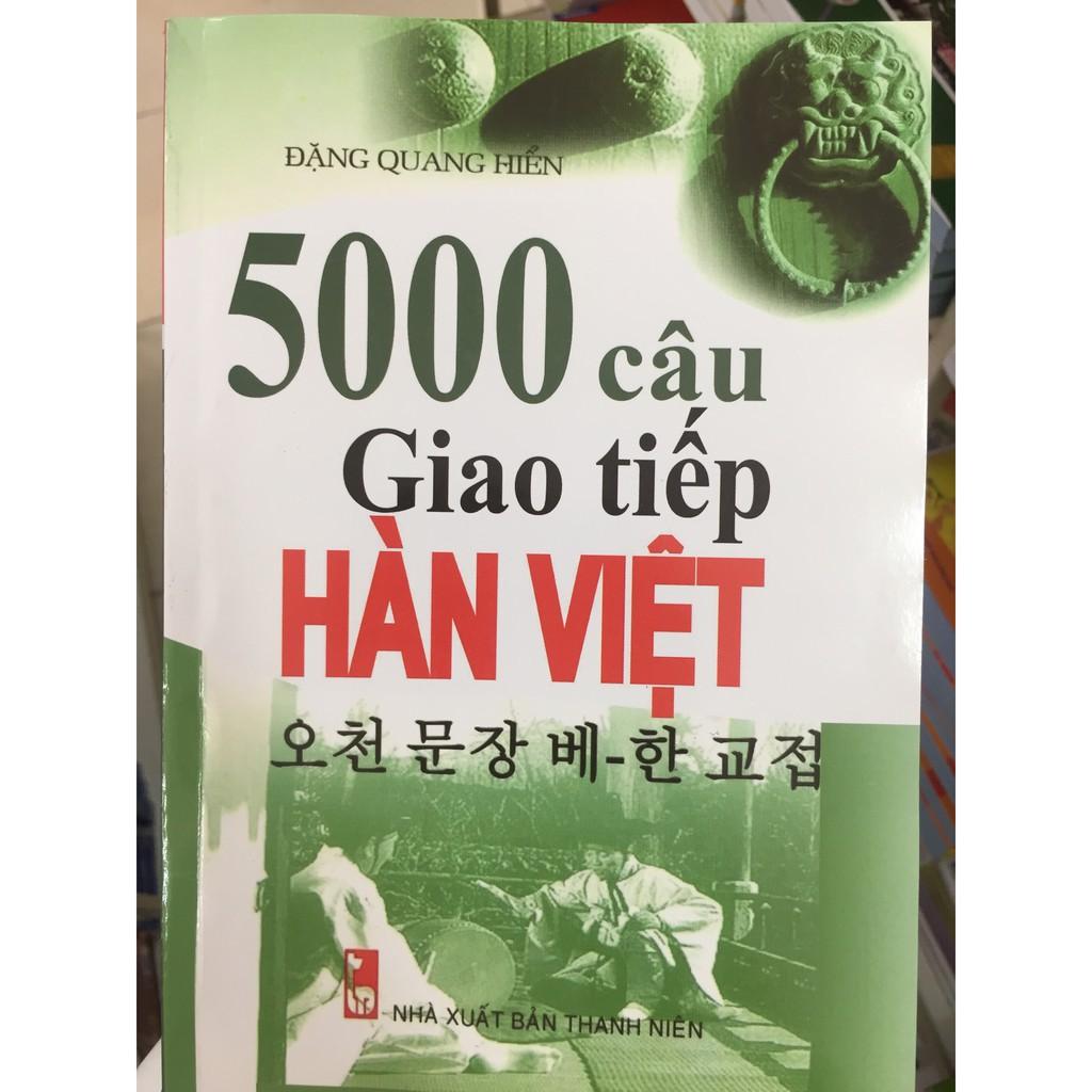 5000 Câu Giao Tiếp Hàn - Việt (Kèm CD)
