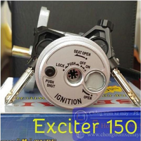 Bộ ổ khoá xe Exciter 150 8 cạnh, Bộ khoá điện xe Ex150 8 cạnh - 3578376 , 1012674605 , 322_1012674605 , 340000 , Bo-o-khoa-xe-Exciter-150-8-canh-Bo-khoa-dien-xe-Ex150-8-canh-322_1012674605 , shopee.vn , Bộ ổ khoá xe Exciter 150 8 cạnh, Bộ khoá điện xe Ex150 8 cạnh