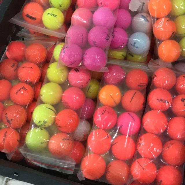 10 Bóng golf màu tổng hợp giá chỉ 7k/quả