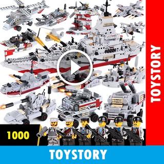 [ToyStory] Bộ Đồ Chơi Xếp Hình LEGO 1000 Mảnh Ghép Chiến Hạm Thuyền Tàu – Bé Phát Triển Tư Duy Thông Minh Cho Trẻ Em