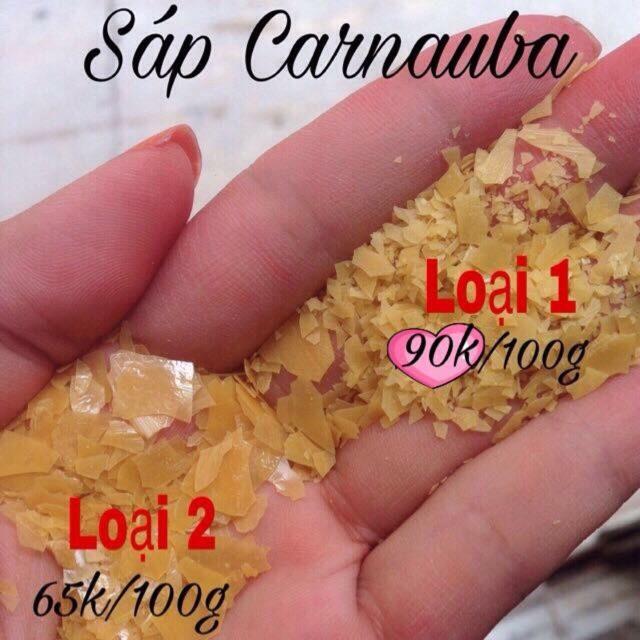 Combo 1kg sáp carnauba loại 1 (Mỹ)