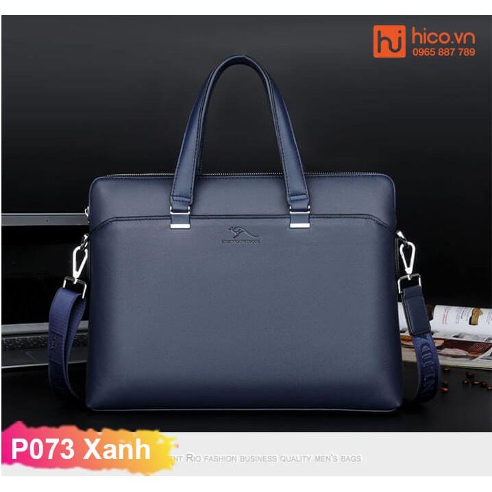 Cặp Xách Da Nam Công Sở P073- Sang Trọng- Lịch Lãm.