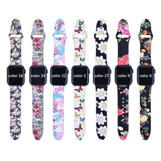Dây đeo đồng hồ Lykry in hoa cho đồng hồ Apple 40 38MM 44 42MM thumbnail