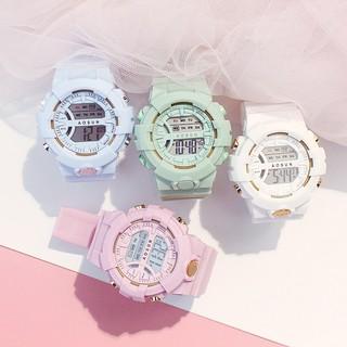 Đồng hồ thể thao Unisex Aosun dây cao su DH107 rẻ
