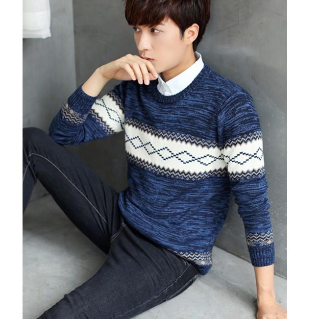 Áo len nam phong cách trẻ trung -