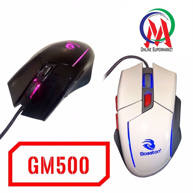 Chuột Bosston GM500 LED Chuyên Game - 3055237 , 549021248 , 322_549021248 , 140000 , Chuot-Bosston-GM500-LED-Chuyen-Game-322_549021248 , shopee.vn , Chuột Bosston GM500 LED Chuyên Game