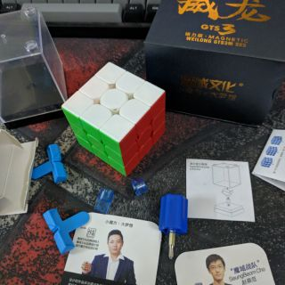 Đồ chơi Rubik 3×3 Weilong GTS3M