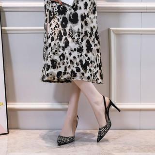 Giày Cao Gót Mũi Nhọn Thời Trang 2021 Cho Nữ
